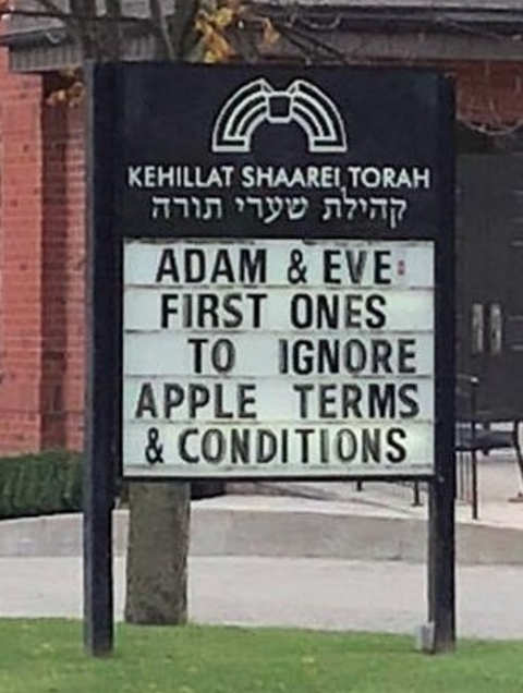 adam even first ones to ignore apple terms conditions