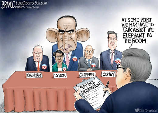 at some point have to talk about elephant in room obama not lynch clapper brennan comey