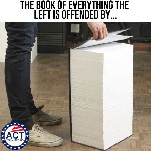 book of everything left is offended by