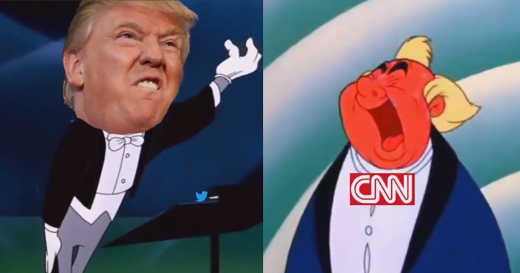 donald trump bugs bunny cnn opera singer