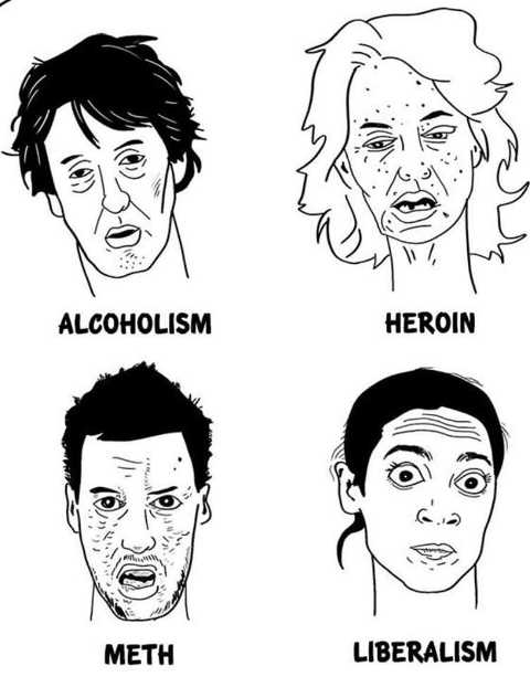 faces of alcoholism heroin meth liberalism aoc ocasio cortez