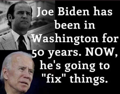 joe biden 50 years in washington dc now hes going to fix things