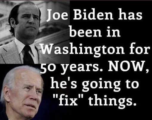 joe biden 50 years in washington dc now hes going to fix things