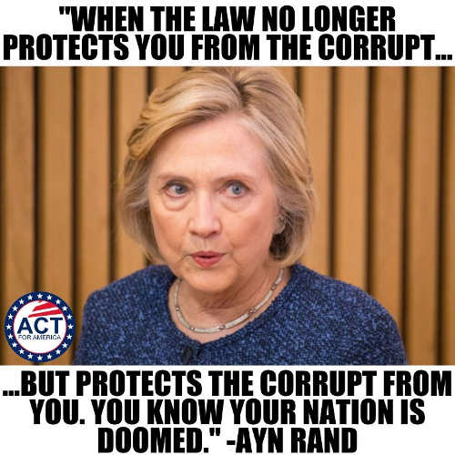 quote ayn rand when law no longer protects you from the corrupt you know your nation is doomed