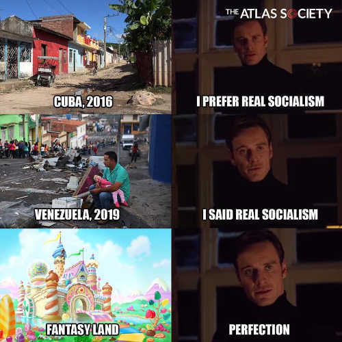 i prefer real socialism cuba venezuela fantasy land perfection