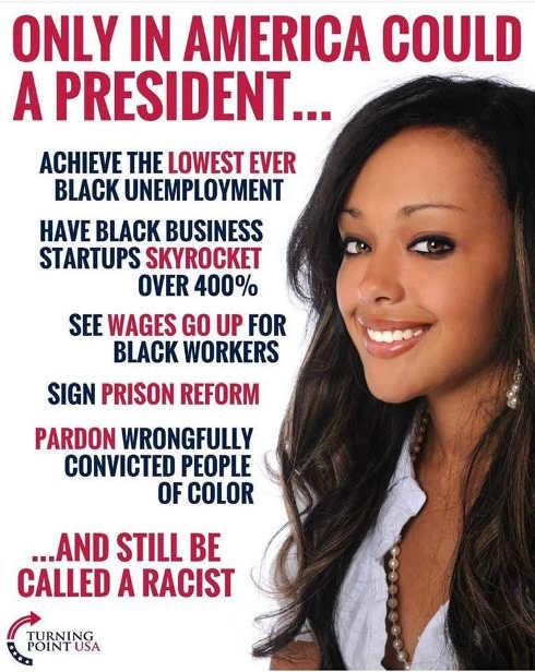only in america president lowest black unemployment prison reform pardons still considered racist
