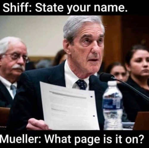 schiff state your name mueller what page is it on