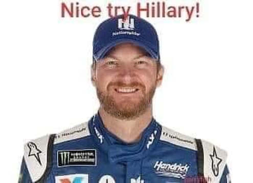 dale earnhardt nice try hillary plane crash