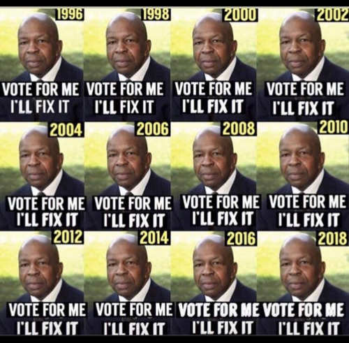 elijah cummings vote for me ill fix it since 1996