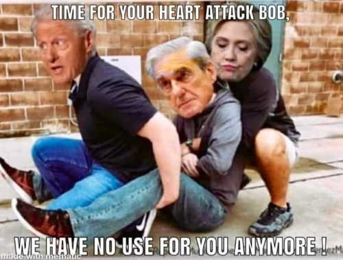 hillary bill time for your heart attack mueller no use for you anymore