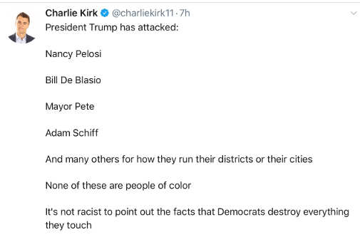 tweet trump attacks pelosi de blasio pete schiff for districts also