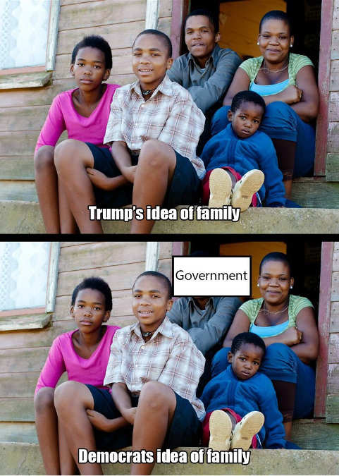 democrats idea of family father replaced by government