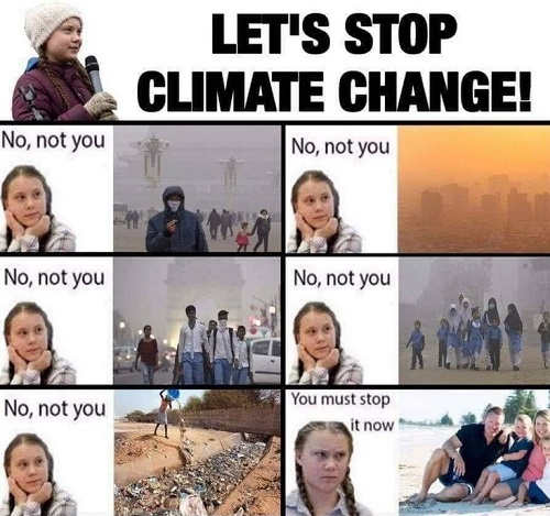 greta lets stop climate change not india china usa must stop now