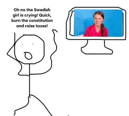 greta oh no swedish girl crying quick burn constitution and raise taxes