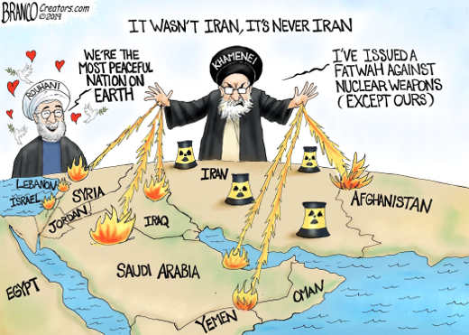 iran spreading terrorism around world