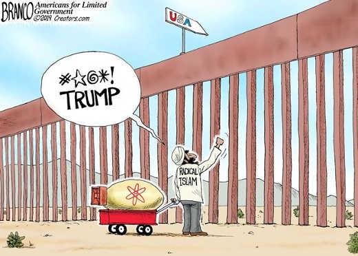 radical islam fuck trump usa wall