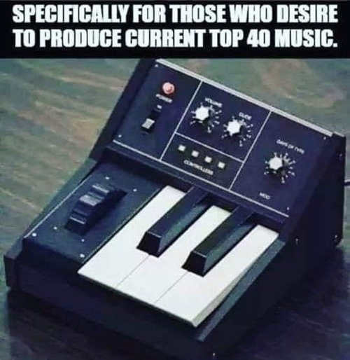 3 key piano specifically for todays top 40 music
