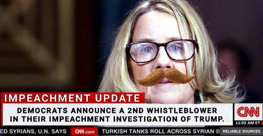 democrats announce 2nd whistleblower in impeachment investigation blasey ford