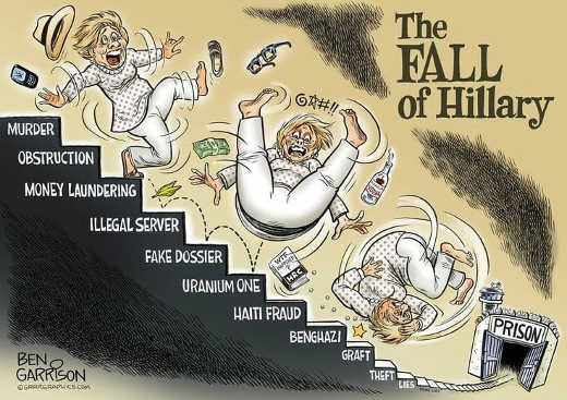 fall of hillary illegal server uranium one benghazi lies