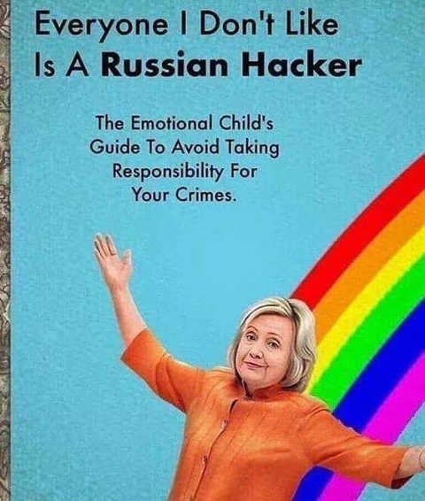 hillary clinton childrens book everyone i dont like is a russian