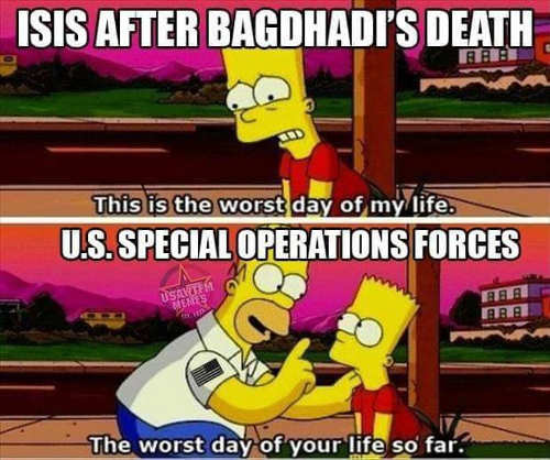 isis after bagdhadis death us special ops worst day of life so far