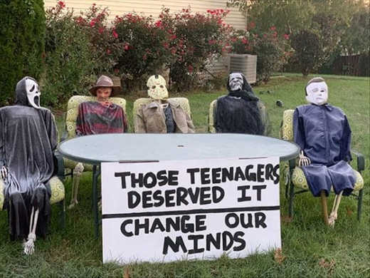 those teenagers deserved it change out minds freddy jason ghost face michael myers