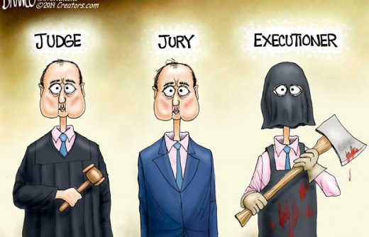 adam schiff judge jury executioner