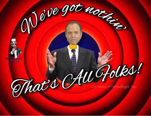 adam schiff weve got nothing thats all folks looney tunes