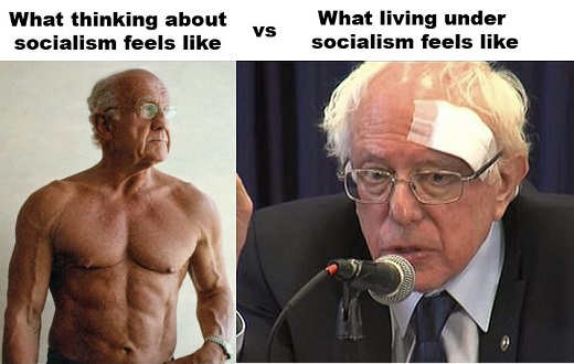 bernie sanders what socialism seems like what it feels like