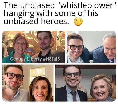 eric unbiased whistleblower hanging with pelosi schumer pelosi hillary clinton