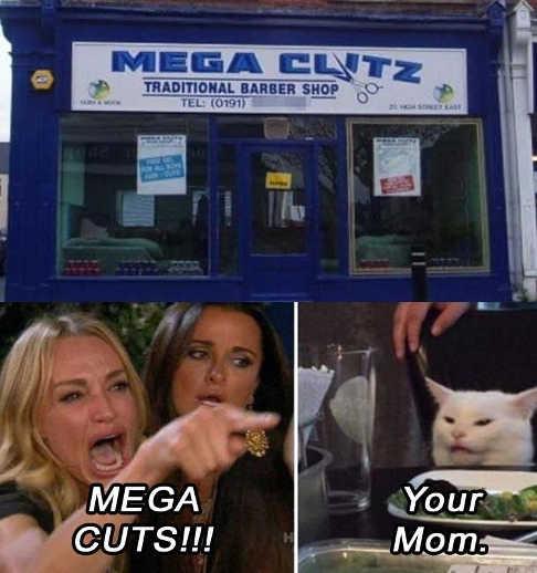 mega cuts barber size clitz cameron diaz cat