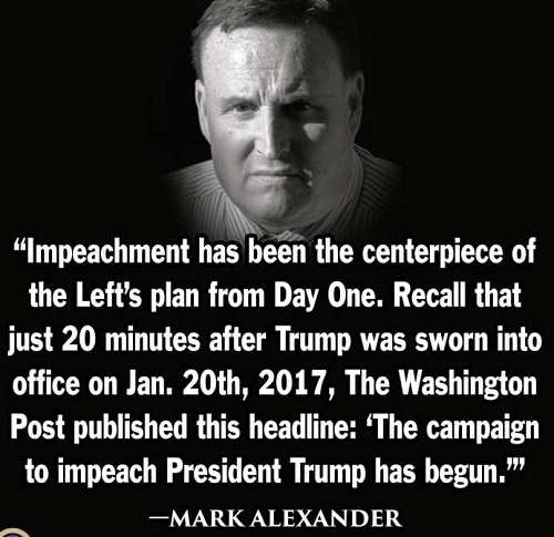 quote mark alexander impeachment from day one washington post headline