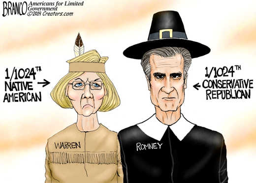 thanksgiving elizabeth warren 1 1024th indian mitt romney conservative