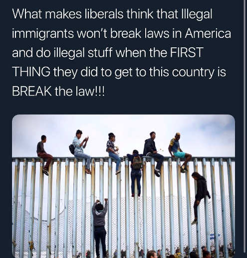 what makes liberal think illegal immigrants will obey laws when first thing they did is break them