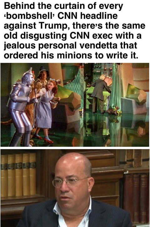 jeff zucker wizard of oz behind the scenes every cnn bombshell
