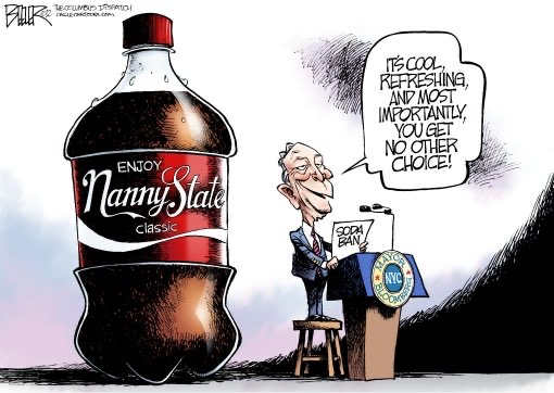 michael bloomberg nanny state no choice