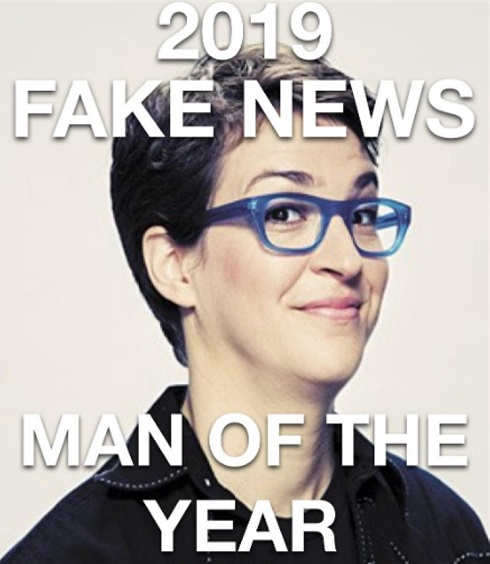 rachel maddow 2019 fake news man of the year