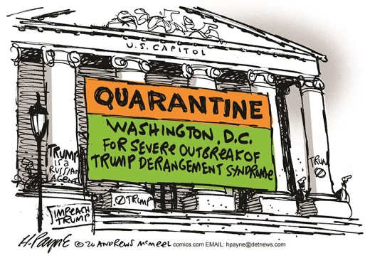 congress quarantine dc severe outbreak trump derangement sydrome tds
