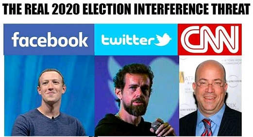 real 2020 election threat cnn facebook twitter zuckerberg dorsey