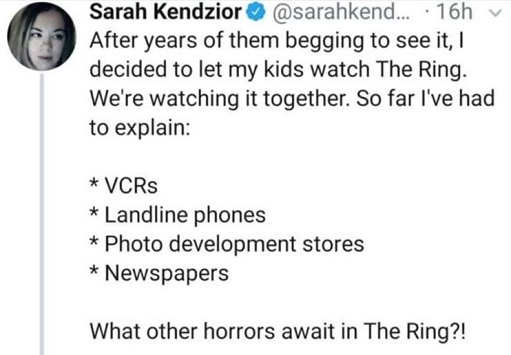 tweet kendzior horrors in the ring vcr landline newspapers