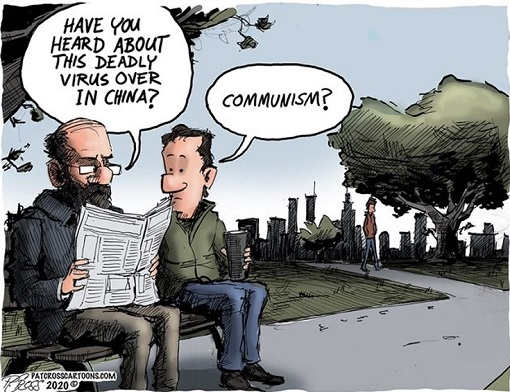 have you heard of deadly virus over china communism newspaper