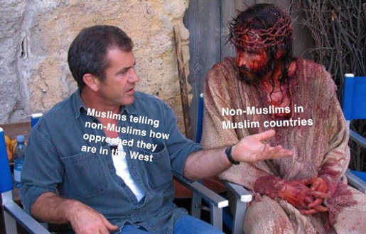 muslims oppressed west talking to non muslims in islam countries