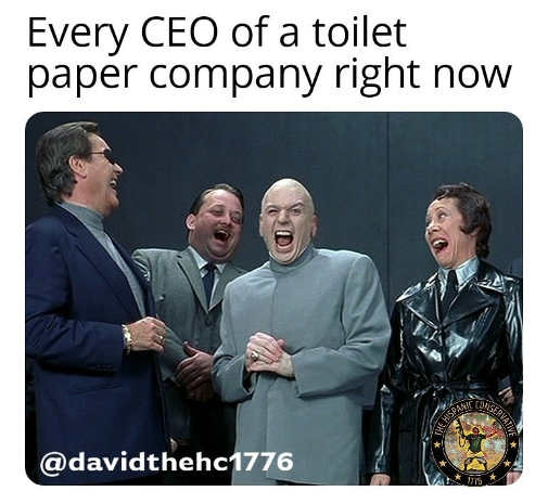 every ceo of toilet paper company dr evil gang
