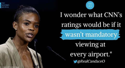 quote candace owens what would cnn ratings bee if not every airport