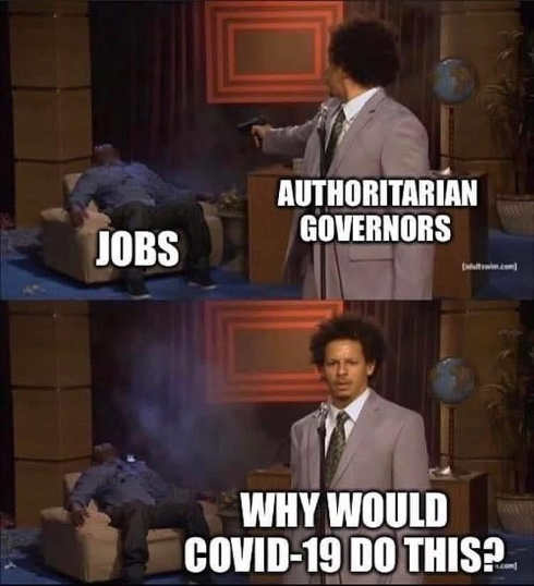 authoritarian jobs shooting why would covid 19 do this