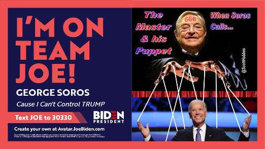 im on team joe george soros puppet biden