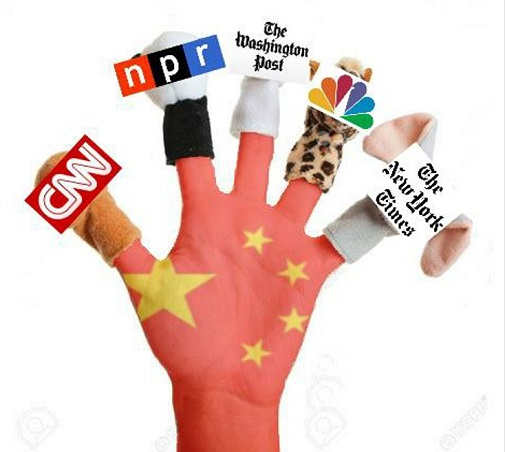 cnn npr washington post new york times nbc puppets of china