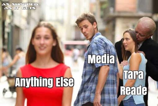 media looking anything else biden tara reade