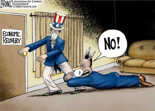 usa economic recovery democrats stop no