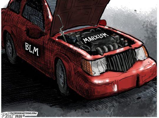 black lives matter blm engine marxism